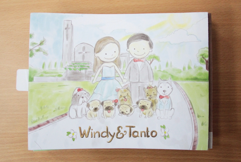 Windy & Tanto Wedding Invitation